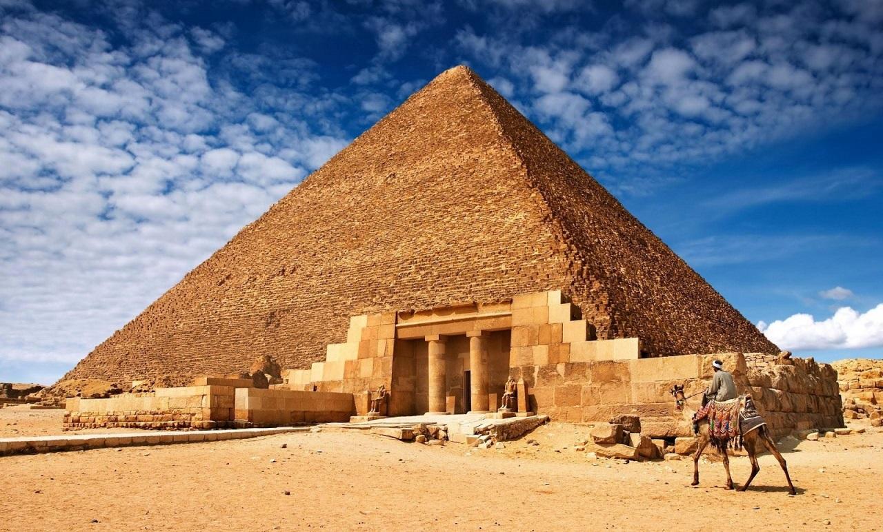 достопримечательности рядом с каиром - Пирамида Хеопса
