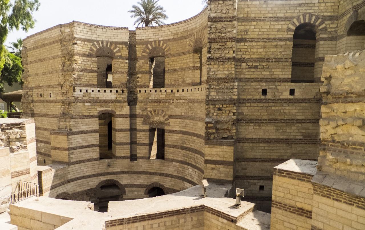 достопримечательности старого каира - Форт-цитадель Вавилон