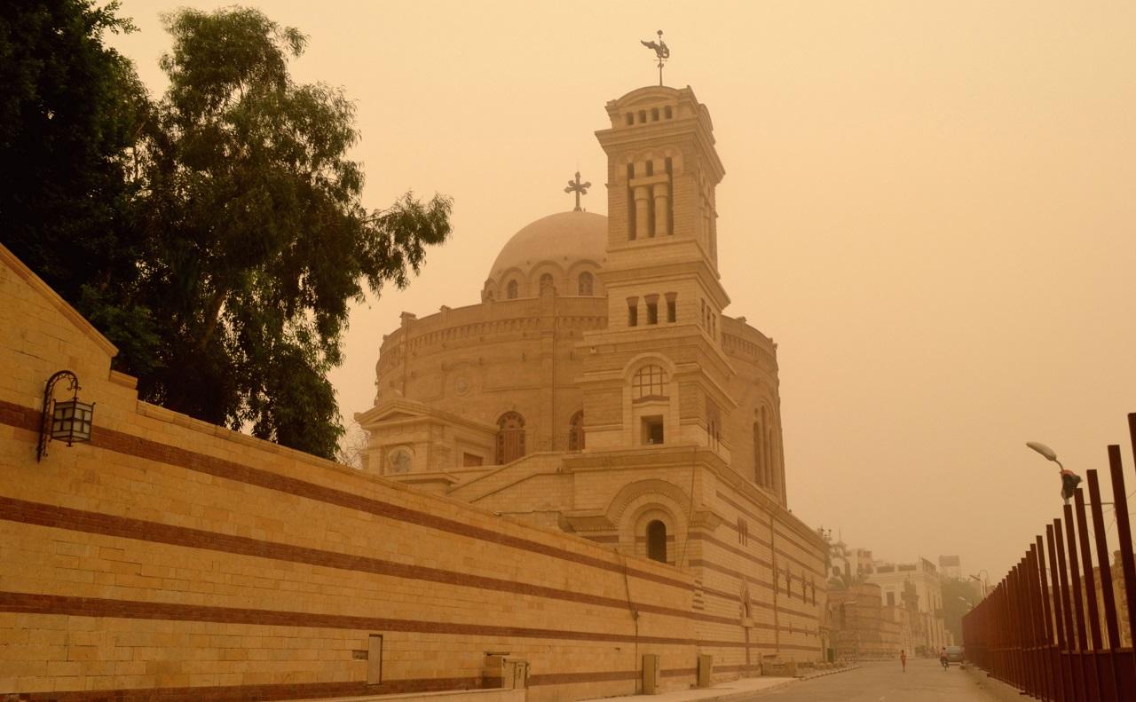 достопримечательности старого каира - Монастырь и часовня Св.Георгия
