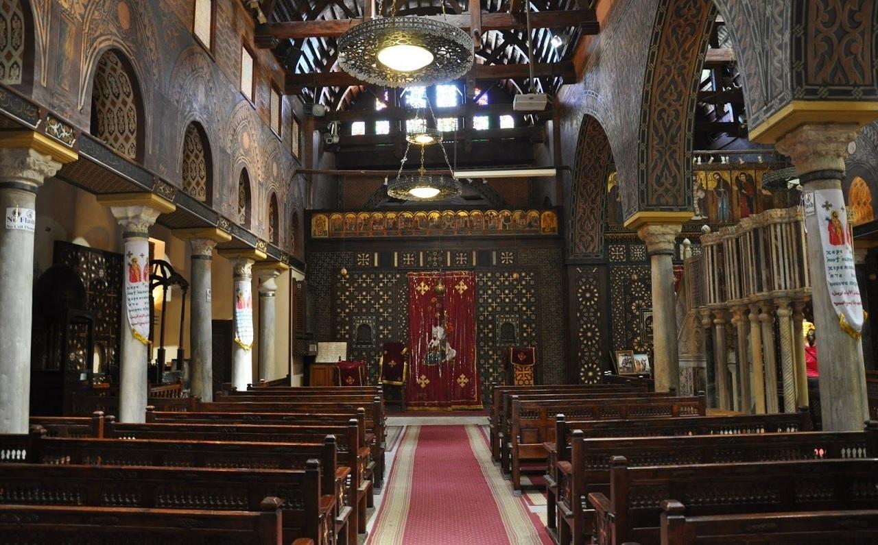 достопримечательности старого каира - Церковь Абу-Серга