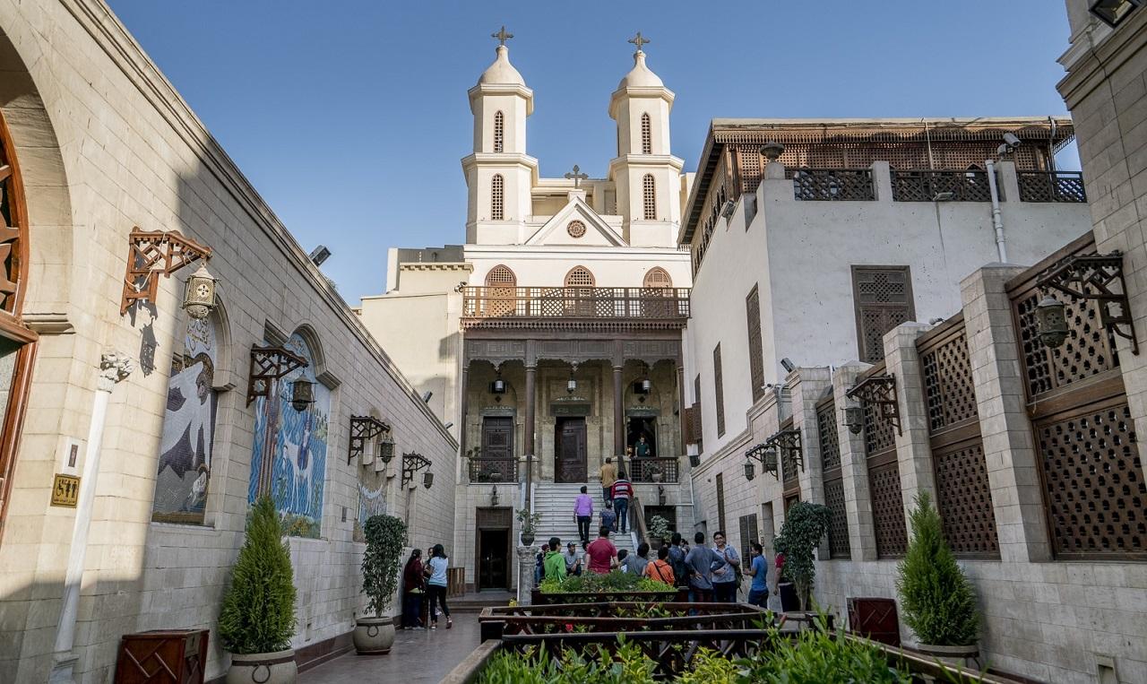 достопримечательности старого каира - Церковь Святой Марии