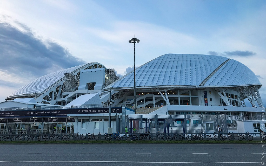 экскурсия олимпийский сочи - стадион фишт