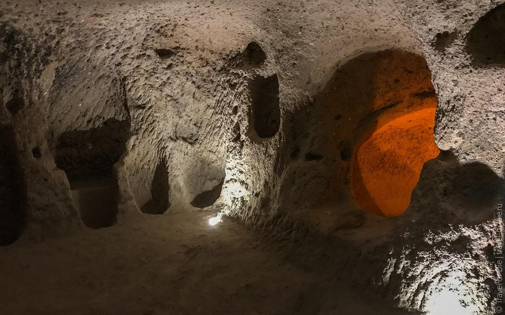 Экскурсии из Стамбула в Каппадокию - подземные города