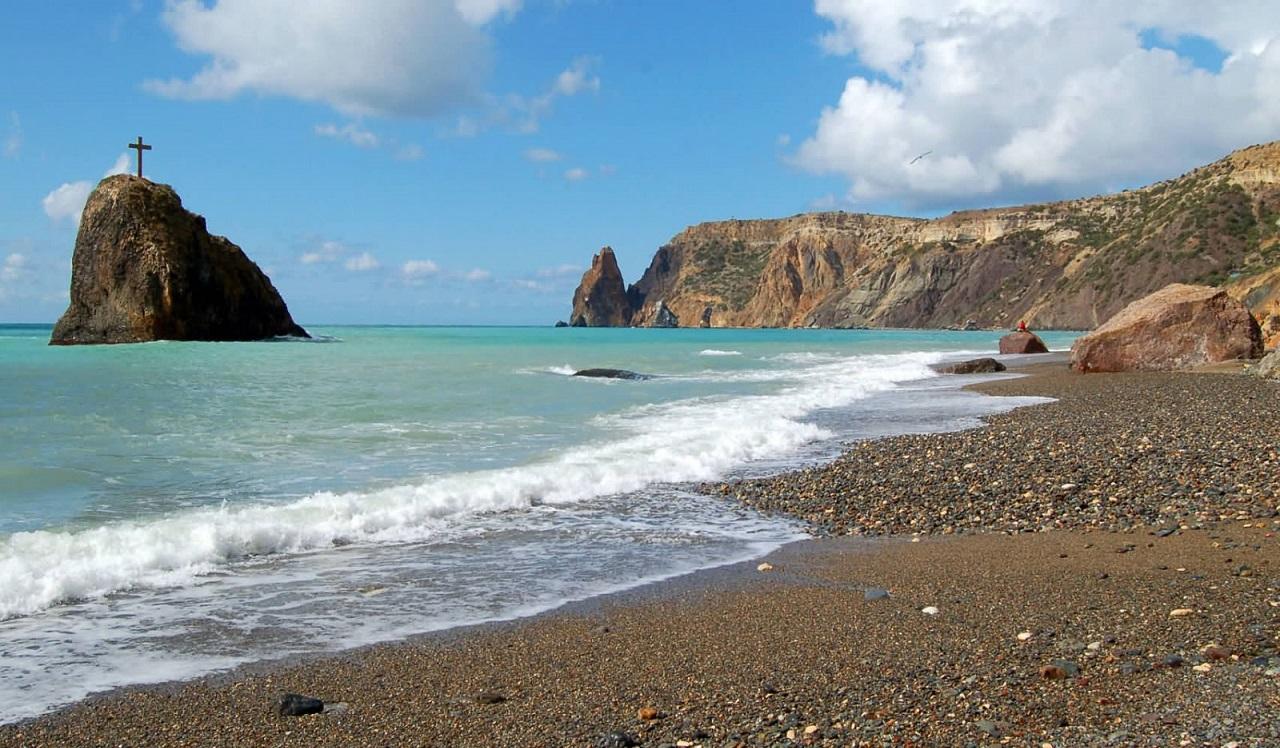 Экскурсия на мыс Фиолент - Яшмовый пляж
