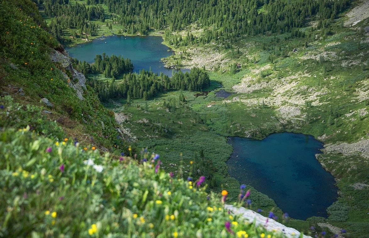 достопримечательности чемала - каракольские озера