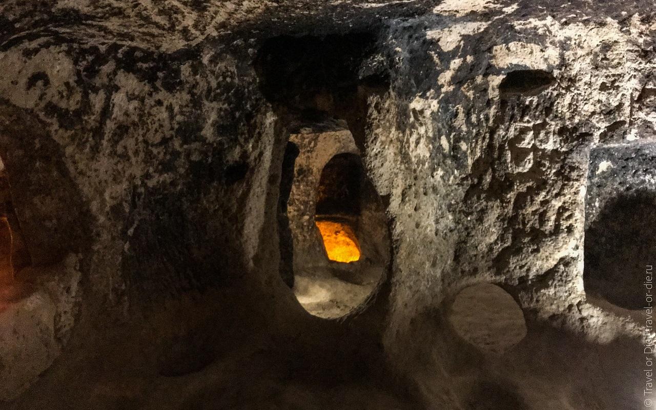 экскурсии из алании в каппадокию - подземные города