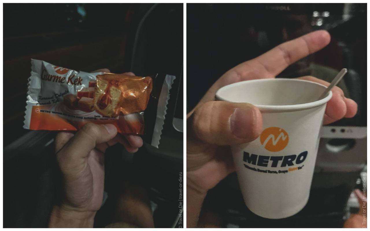 как добраться из алании в каппадокию - чем кормят в автобусе