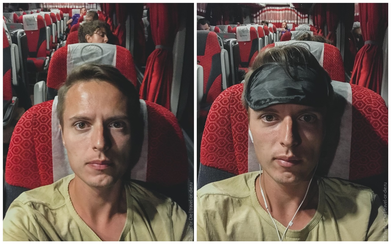 как добраться в каппадокию из алании - ночной автобусный рейс