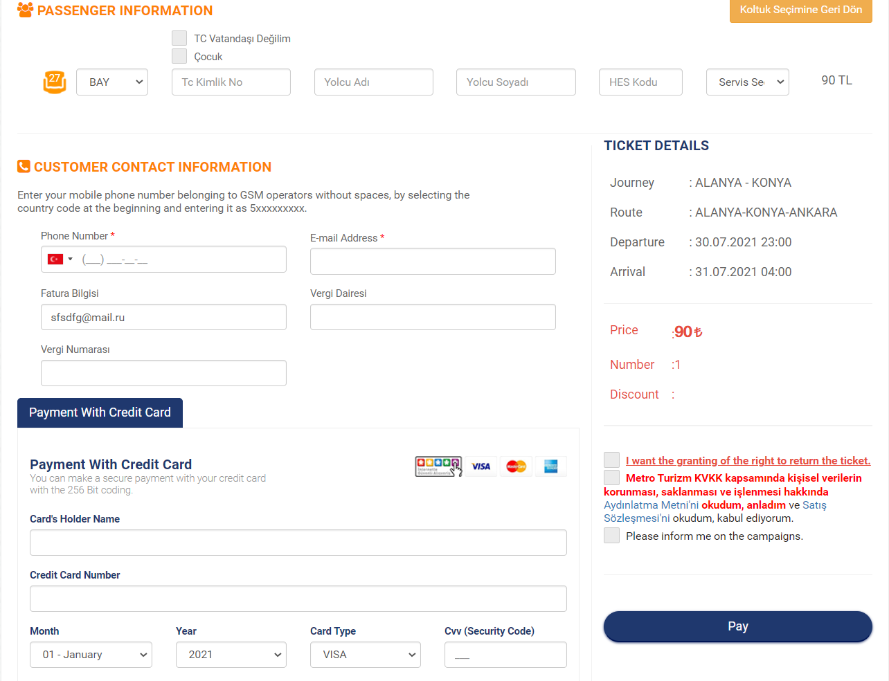 как доехать из алании в каппадокию - турецкие сайты бронирования билетов на автобусы 2
