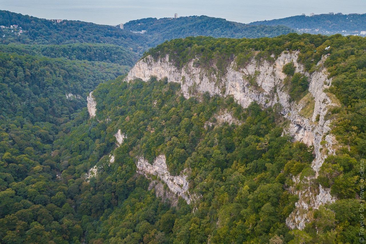 каньон чёртовы ворота - орлиные скалы