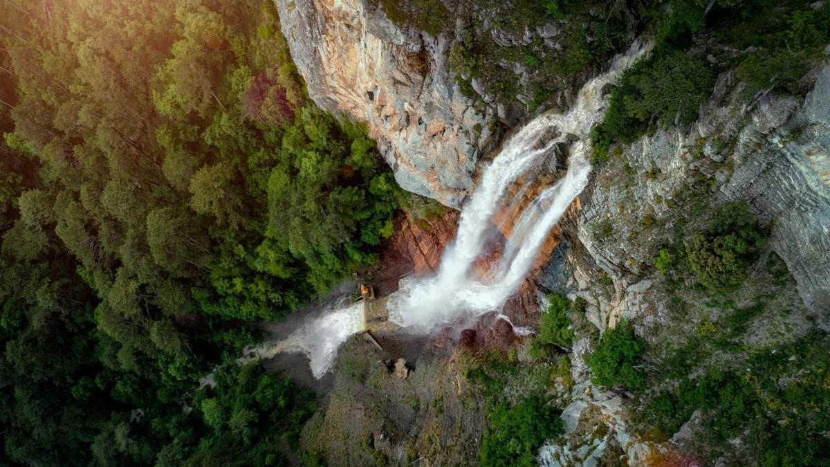 Что вы увидите во время экскурсии на Ай-Петри - Водопад Учан-Су