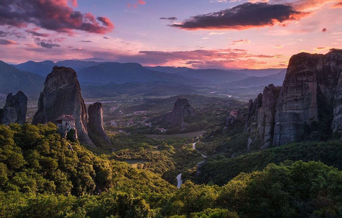 Что вы увидите во время экскурсии в метеоры - Фессалийская долина