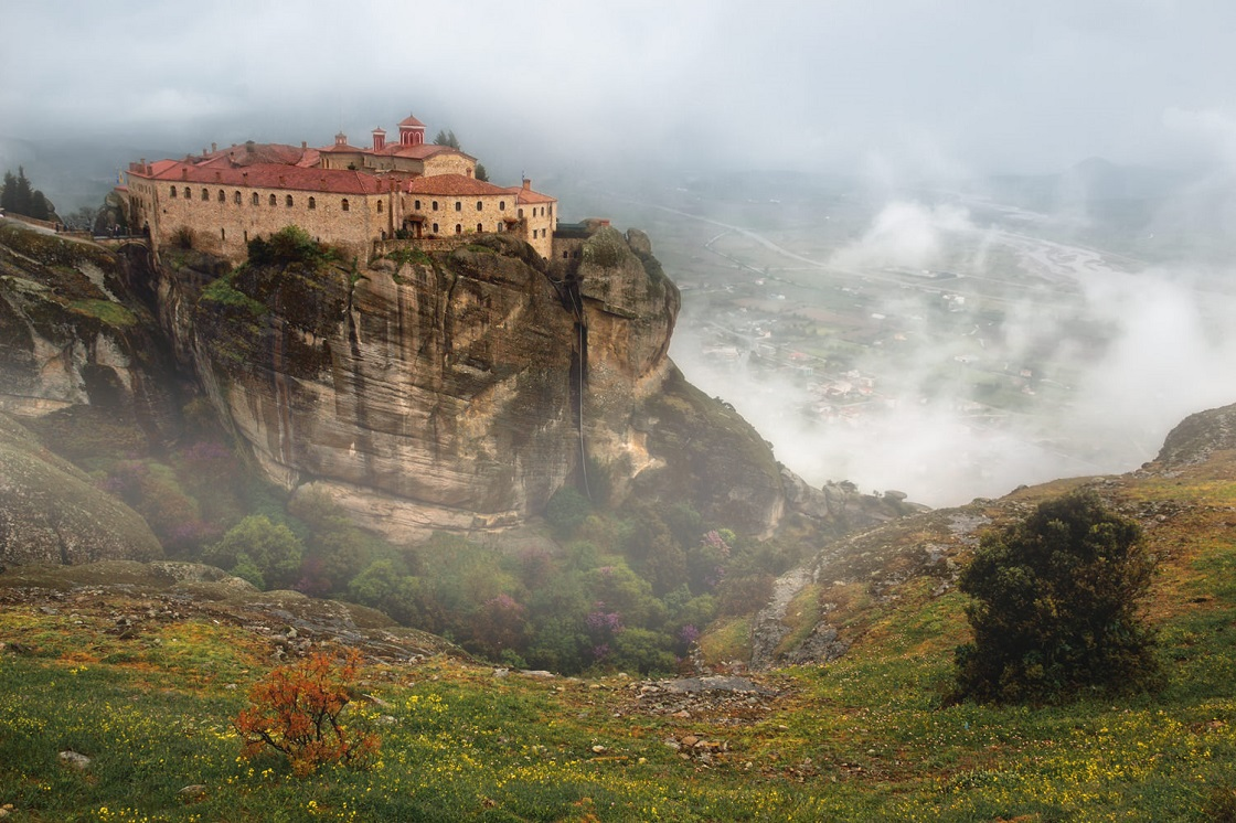 Что вы увидите во время экскурсии в метеоры - Монастырь Святого Стефана