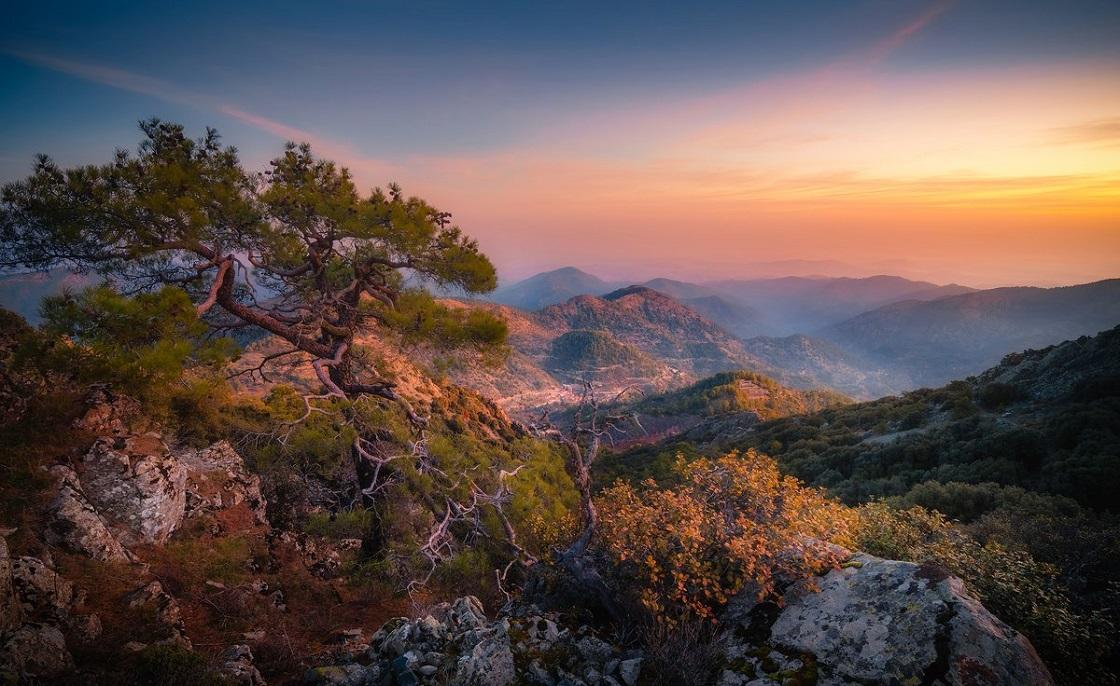 Горные деревушки Троодоса - Троодосские горы и вершина Олимп