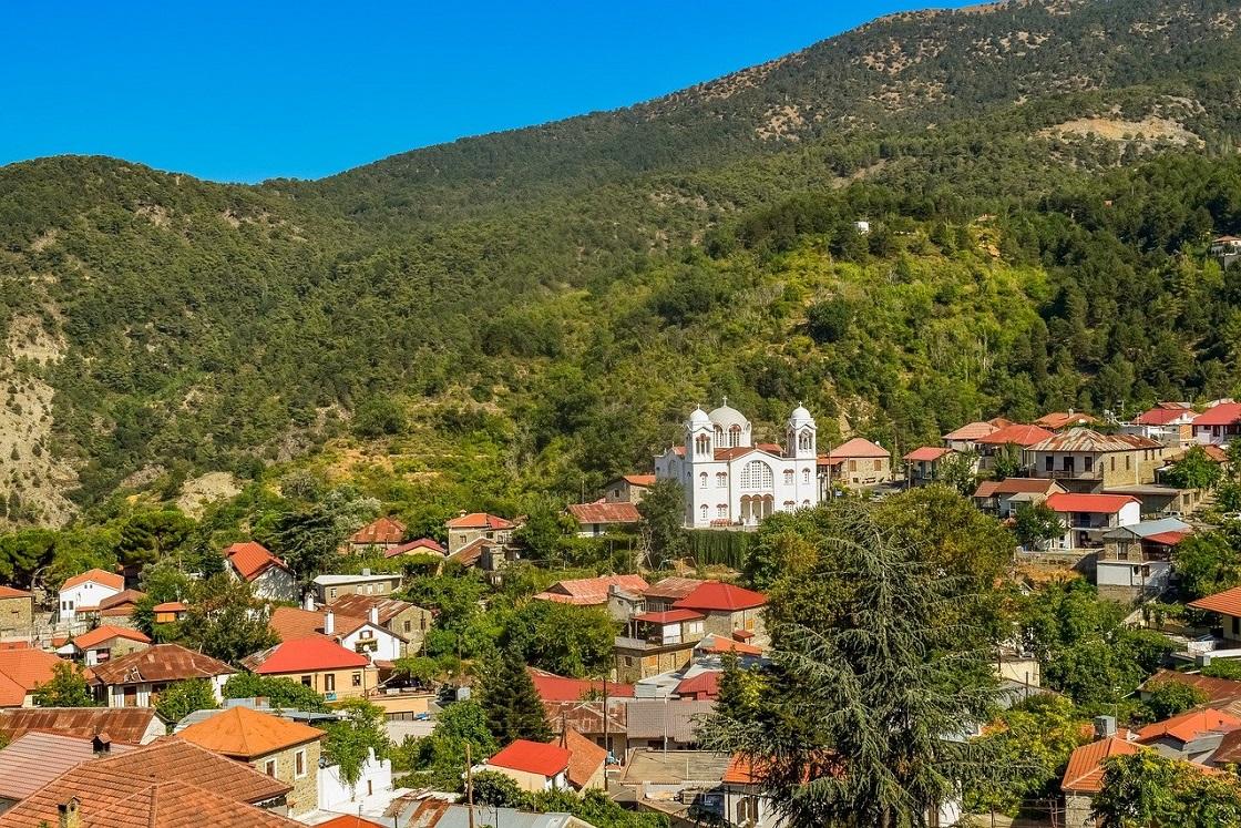 Горные деревушки Троодоса - горная деревушка Педулас