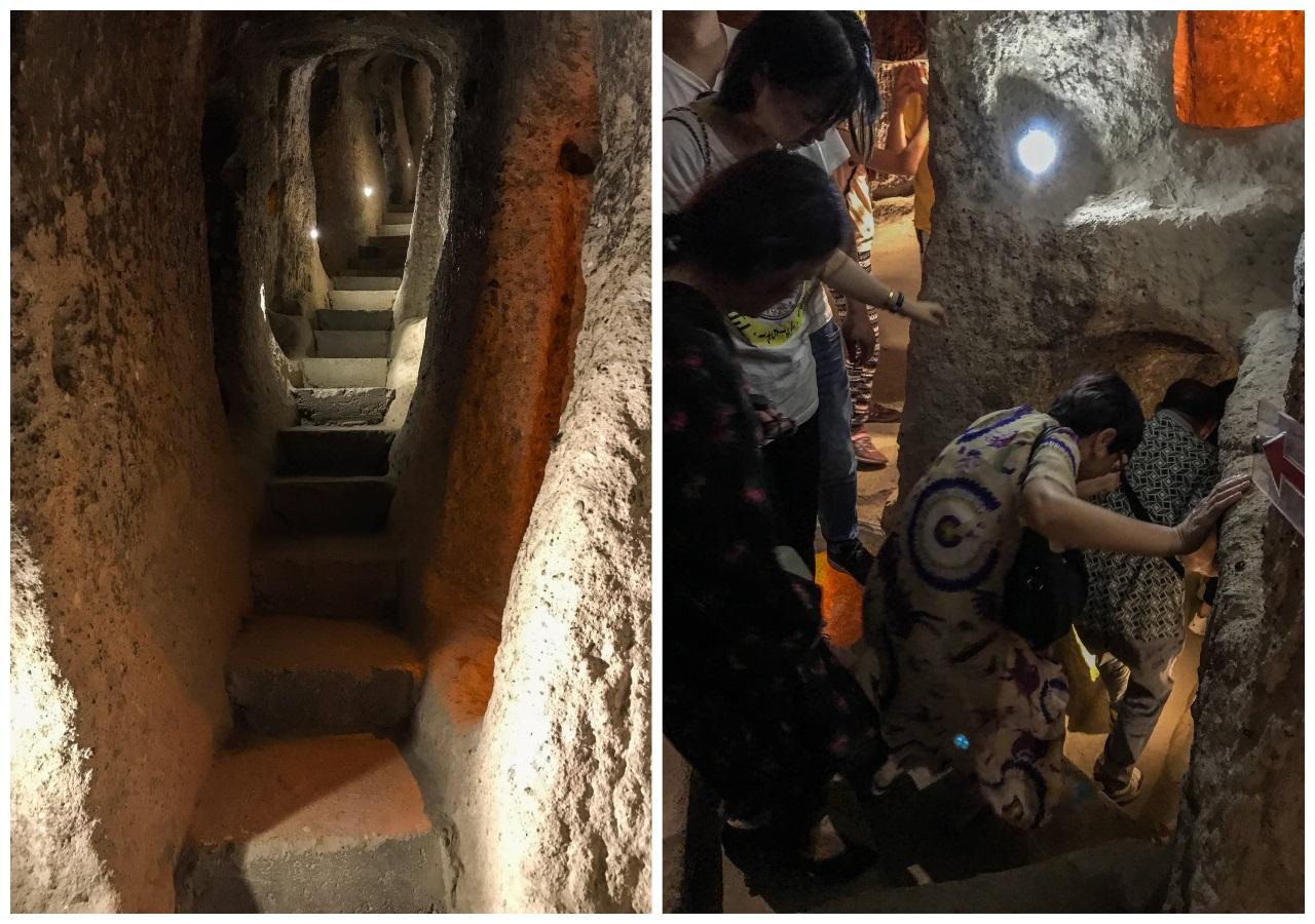 красный тур по каппадокии - подземный город каймаклы 2