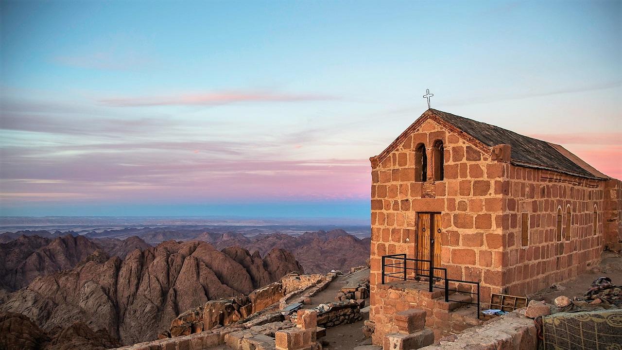 что вы увидите на экскурсии на гору синай - Часовня Св.Троицы