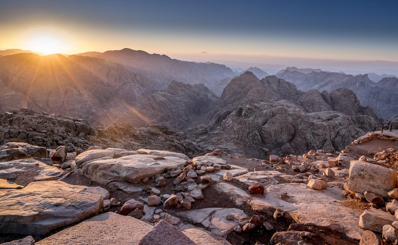 что вы увидите на экскурсии на гору синай - Гора Моисея