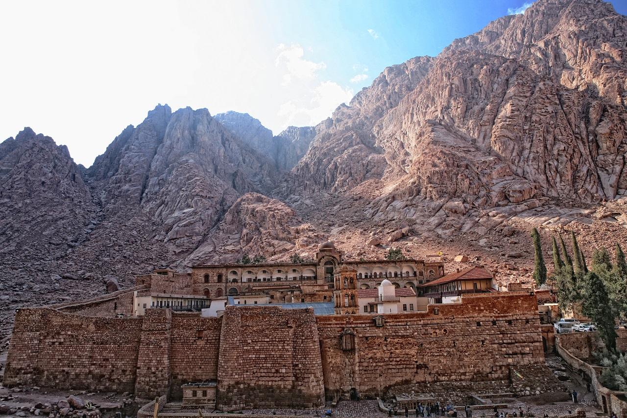 что вы увидите на экскурсии на гору синай - Монастырь Св.Екатерины