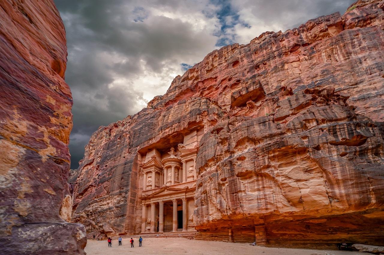 что вы увидите на экскурсии в петру из Шарм-эль-Шейха - Древний город Петра