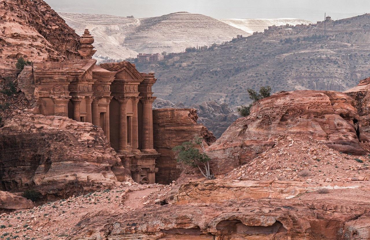 что вы увидите на экскурсии в петру из Шарм-эль-Шейха - Храм Ад-Дейр
