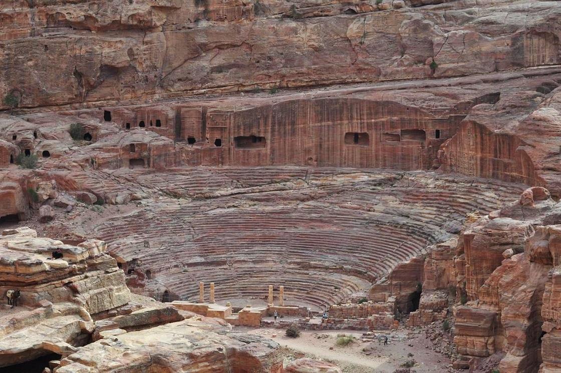 что вы увидите на экскурсии в петру из Шарм-эль-Шейха - Римское наследие Петры