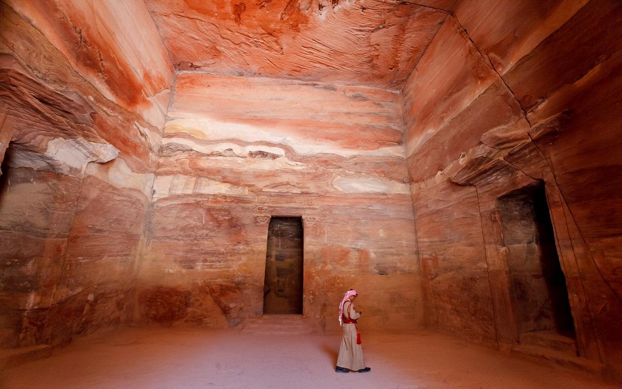 что вы увидите на экскурсии в петру из Шарм-эль-Шейха - Сокровищница Эль-Хазне